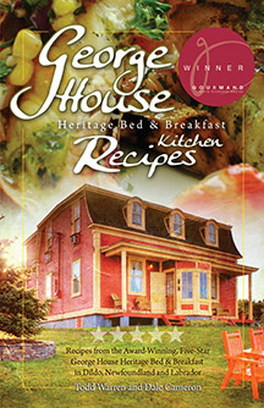 Flanker Press George House Heritage Bed & Breakfast Kitchen Recipes
